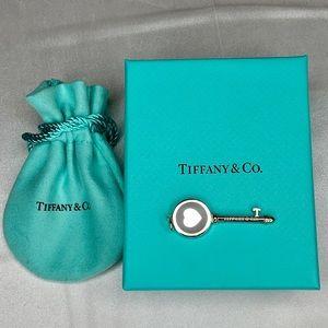 Tiffany Keys Heart Key Charm Pendant